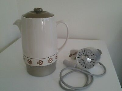 Vintage Russell Hobbs Wedgwood Automatic Coffee Percolator Model CP2, 1970's