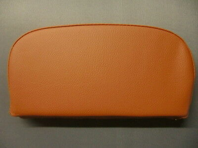 Plain Orange Scooter Back Rest Cover (Purse Style)