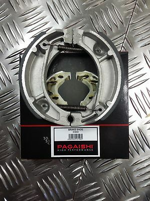 PAGAISHI REAR BRAKE SHOES Cagiva City 50 Lucky Explorer 4P 1993 C/W SPRINGS