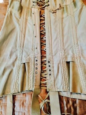 Binner New York - Vintage Long Corset with Boning and Laces