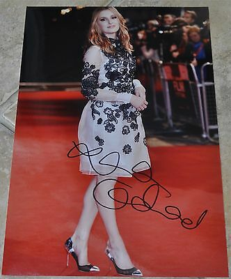 "Laura Carmichael Signed 12"" x 8"" Photo Downton Abbey"