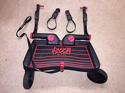 Lascal Buggy Board Mini in Red, with all the bindings and strap!!