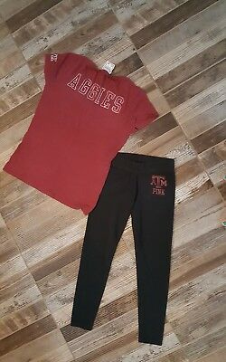 victoria secret pink aggies set