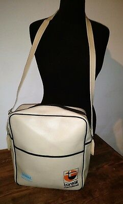Vintage 70's SABENA BELGAIN WORLD AIRLINES Carry On Bag RARE!