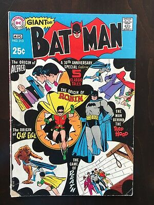 Batman Comics #213 and 214 - Silver Age - 30th Anniversary Special