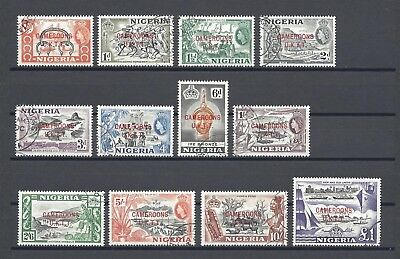 CAMEROONS/UKTT 1960 SG T1/12 USED Cat £55