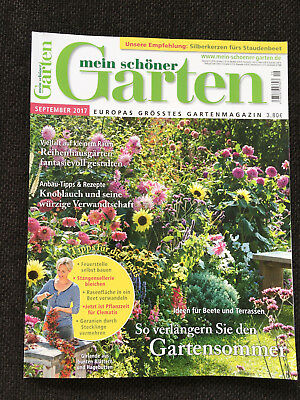 zeitschrift mein sch ner garten oktober 2017 europas gr sstes gartenmagazin eur 1 39. Black Bedroom Furniture Sets. Home Design Ideas