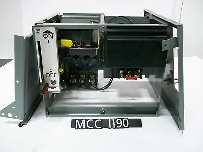Square d mcc bucket motor control center size 1 starter for Square d motor control center