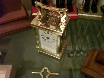 Minted 8Day Carriage Clock With Incabloc Escapement By Taylor And Bligh London