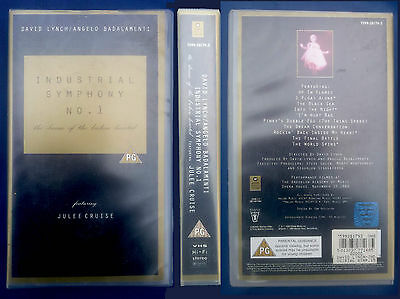 VHS, Industrial Symphony  No.1, Lynch/Badalamenti, USA 1990, engl. OF