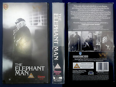 VHS, The Elephant Man, USA 1980, engl. OF