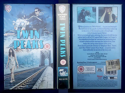 VHS, Twin Peaks, Pilot, USA 1989, Europa-Edition, engl. OF