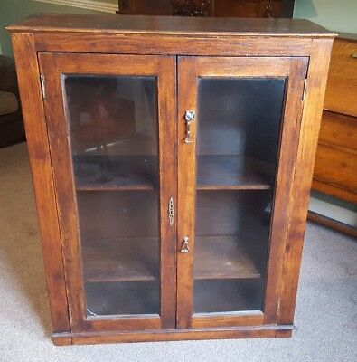 antique old cabinet / bookcase