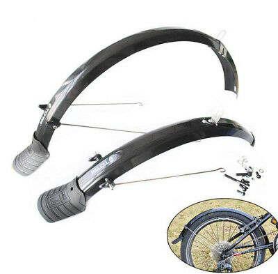 20inch Bike Bicycle P8 Lengthen Front Mudguard + Rear Fender Mud Guard Set