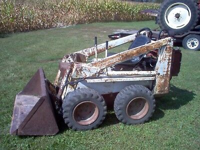 Bobcat M371 Skid Loader Mini Bob 14hp Kohler No Reserve Skid Steer