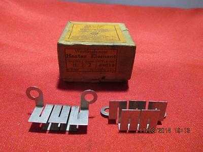 Westinghouse Type TA Thermal Overload Relay Heater Element 474419-B