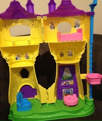 Fisher Price Little People Castle And Barn Play Sets