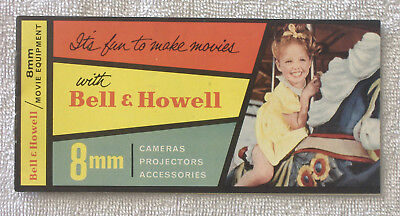 Vintage {BELL & HOWELL PRICE CATALOG BOOKLET} Cameras Projectors Accessories 8mm