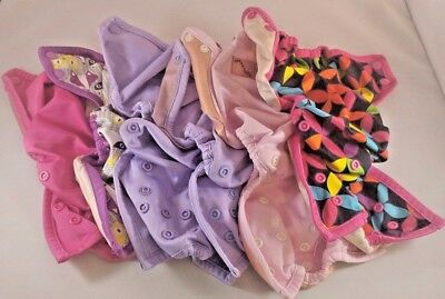 6 Rumparooz Diaper Covers Preowned CLEAN one size