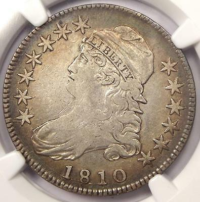 1810 Capped Bust Half Dollar 50C O-101a - NGC VF Details - Rare Certified Coin