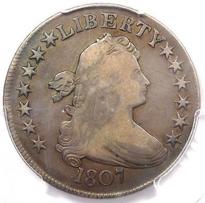 1807 Draped Bust Half Dollar 50C O-108 - PCGS VF Details - Rare Certified Coin