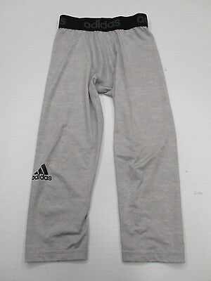 ADIDAS #SH7898 Men's Size M Athletic CLIMALITE Gray Compression Shorts