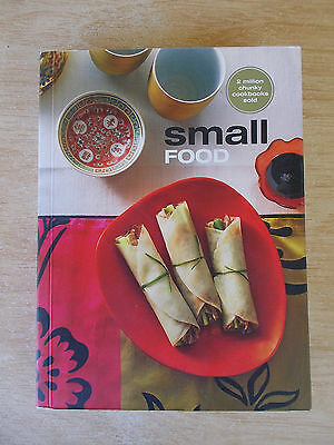 Small Food~Chunky Cookbook~Nibbles~Cold~Hot~Sweet~Recipes~400pp P/B~2009