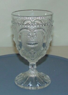 RARE Antique DUGAN EAPG Goblet JEWELED HEART PATTERN #2