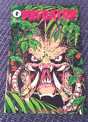 PREDATOR #2 (1989) Autographed by Artist Chris Warner GREAT CONDITION!