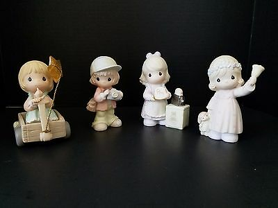 Lot of 4 Precious Moments Collectibles NWOB