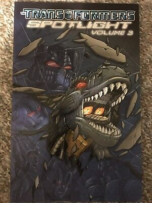 Transformers Spotlight Vol. 3 TPB - IDW Collection.  New!