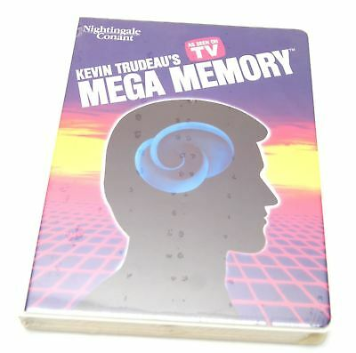 kevin trudeau's mega memory cassette tapes new in package as seen on TV