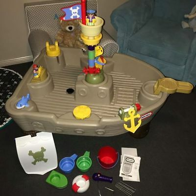 Little Tikes Anchors Away Pirate Ship Water Table (rrp $199) 3802 VIC