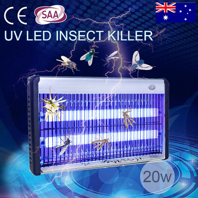 Electronic Outdoor UV Mosquito Control Lamp Insect Zapper Fly Pest Killer Light