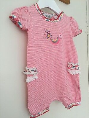 BEBE BY MINIHAHA BABY GIRL SUMMER SUIT SIZE 00 (3-6 Months)