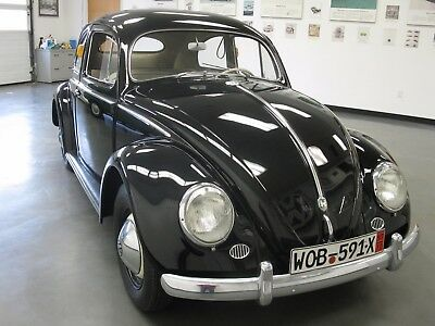 1956 Volkswagen Beetle - Classic Amazing Condition Unrestored 1956 Oval Sedan in remarkable unrestored condition with 43,000 miles