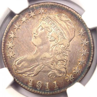 1811 Capped Bust Half Dollar 50C O-108 - NGC XF Details (EF) - Rare Coin!