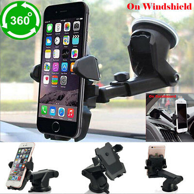 Universal Car Windshield Dash Mount Mobil Cell Phone Holder f iPhone 6 7 8 Plus