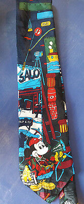 VINTAGE Disney Mickey Unlimited MICKEY MOUSE Neck Tie - Fast Free Shipping!