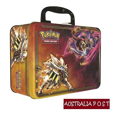 POKÉMON TCG 2017 Collectors Chest Trading Card Game (SEALED) + Free F/Spinner