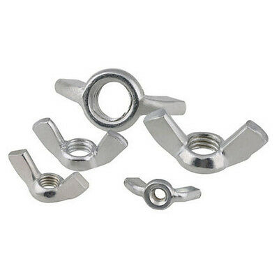 ZINC plated UNC/BSW Thumb Nut Wingnut 3/16 1/4 5/16 3/8-16 1/2-12
