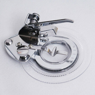 Fancy Flower Embroidery Round Stitch Presser Foot  for Low Shank Sewing Machine