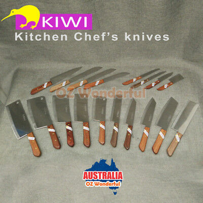 KIWI knife kitchen butcher square chef knives stainless steel fruit bone cleaver