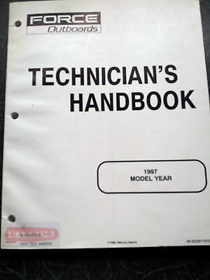 Force Outboards Technicians Handbook 1997 Model year