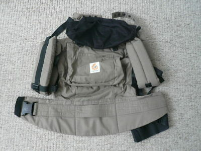Ergobaby Carrier in Khaki with Japanese Zip case