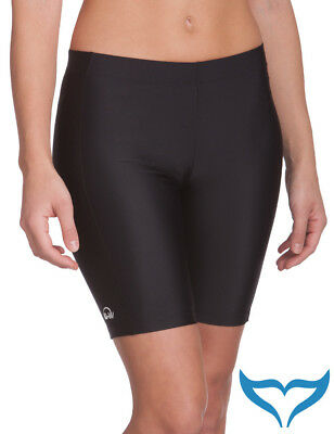 iQ UV 300 Shorts Slim Fit Women Damen XS S M L XL XXL black schwarz Sport Schutz