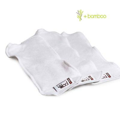 Pop-In General Bamboo Booster (3 pack) Extra Absorbancy for Reusable Nappies