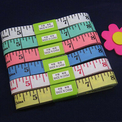 1.5M Soft Ruler Sewing Tailor Body clothes Measuring Measure Tape Flexible Rule