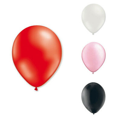 "Bag of 20 latex balloons 12 ""or 30 cm nacres Red Q3S4"
