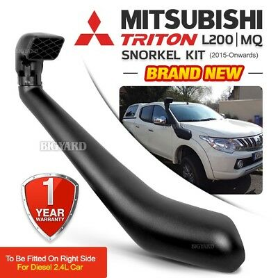 MITSUBISHI Triton L200 MQ 2015-ON 2.4L Off Road Diesel Air Intake Snorkel Kit
